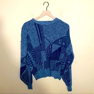 VNTG JT BECKETT grandpa crewneck sweater M